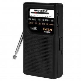 Radio AM/FM 2 Bandas - CX16A