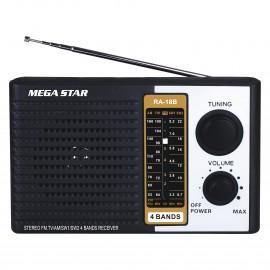 Radio AM/FM 4 Bandas - RA18B