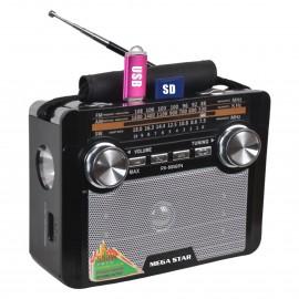 Radio AM/FM 3 Bandas - RX805BT